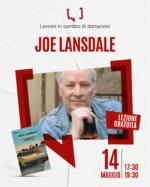 Locandina lezione di Joe Lansdale: venerdì 14 maggio 2021 dalle 17.30